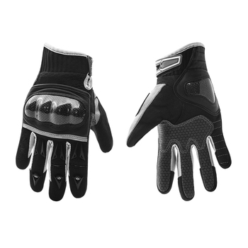 Burtono Best Protective Black Pro Biker Leather Motorcyclehand Gloves With OEM Service gym gloves