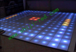 smd5050 35mm icrgb pixel led round light club using screen advertising
