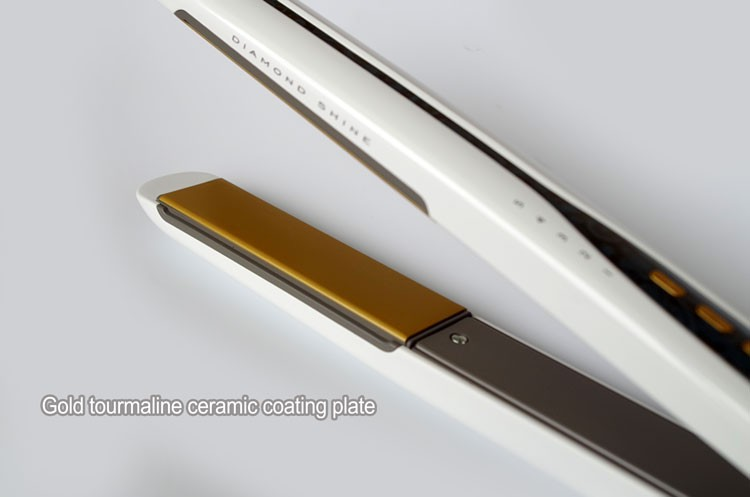 Professional Diamond water transfer printing ionic hair straightener