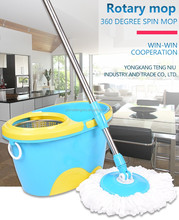 2017 new design folding 360 spin mop bucket