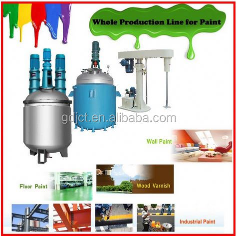 Alibaba best China supplier homemade house paint making equipment for sale