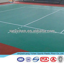 Used volleyball sport court vinyl flooring roll