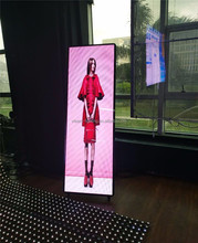 Advertising screen ultra thin full hd xxx photo led display indoor glass led screen