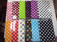 gel TPU polka dots case cover for ipad mini