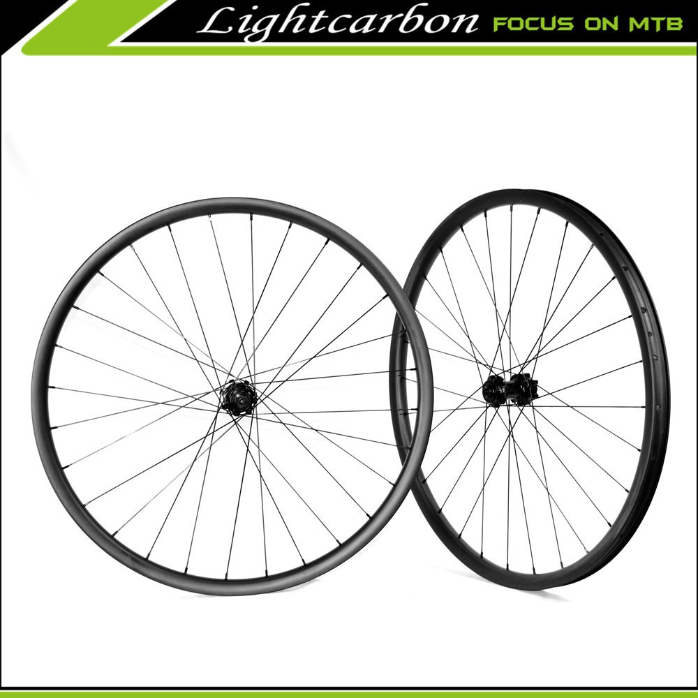 Carbon Fiber Mountain Bike Wheels XXR27.5-33S LIGHTCARBON New Carbon Mountain Bike Wheels Offset Rim 33mm Wide 27.5er MTB Wheels