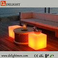 led cube light solar light/ led cube lighting chair/ plastic garden chairs and tables