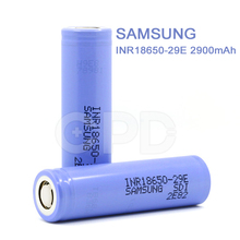 for Genuine Samsung 29E battery 3.7V 2900mah li-ion battery INR18650 for Tesla Starter Kit 150W