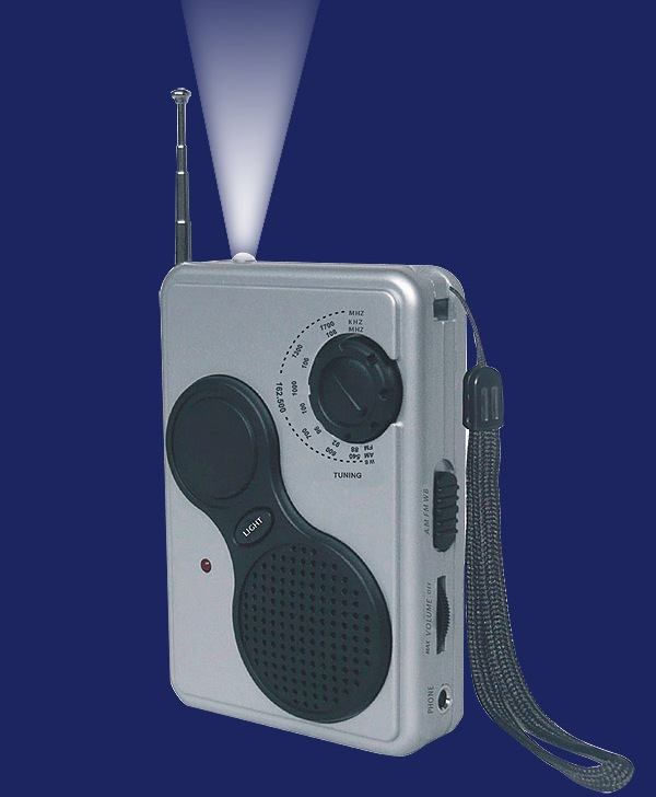 Battery powered weather radio (BR086W)