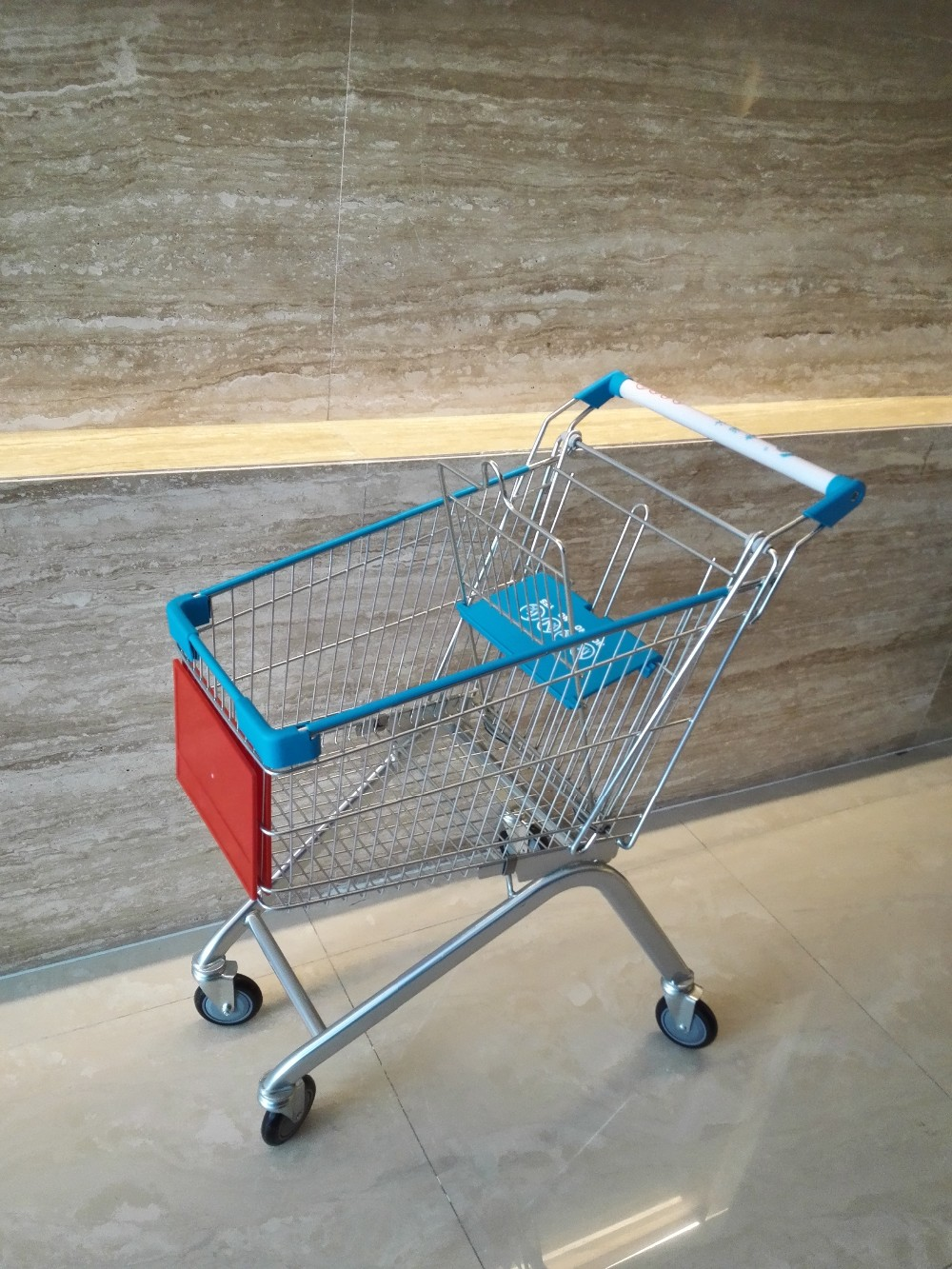 factory-directly 2017 New style supermarket shopping trolley cart for sale