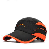 Top quality popular fashion outdoors two color baseball cap sport caps and hats with plastic buckle