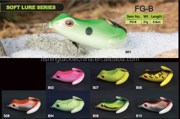 6.5cm fishing lure frogs