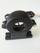 DC hall effect split core current sensor with 1.5m cable connector