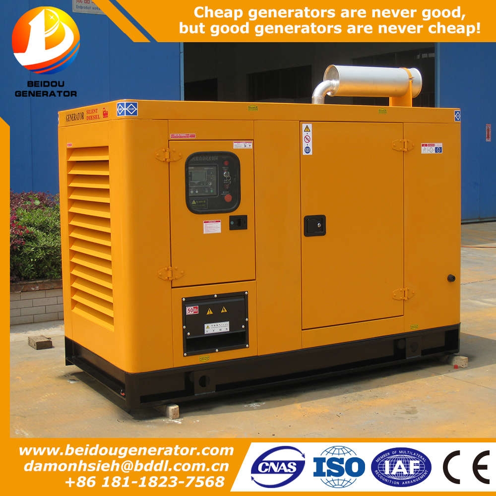 4cylinder 4 stroke 187.5KVA 20 kva power generator price no fuel