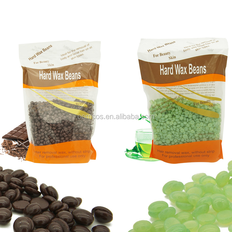 Hair Removal Hard Wax Beans Stripless Full-Body Depilatory Wax Beads For Men and Women