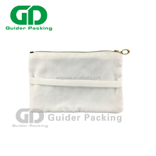 new style promotion eco-friendly zip lock foldable organic recycle small non-woven shopping canvas cotton bag