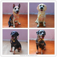 New Product Resin Crafts Small Dog Figurines, Mini Dog Figurines for sale