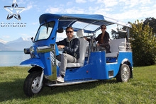 Electric tricycle with three wheel with roof /electric rickshaw