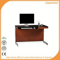 Best selling simple design office home computer table with many colors