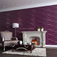 Wholesale 3d wall decor interior wall designs pvc wainscoting