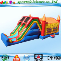 2015 cheapest inflatable combo for sale, inflatable bouncy castle slide, inflatable bouncer withe slide