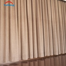 Motorized control Ready made drapes curtains with plain fabric