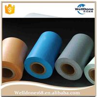 Colorful PE cast protective plastic film for baby diaper and pad