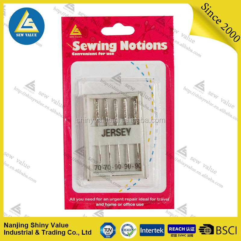 5 PCS Organ Domestic Sewing Machine Needles Universal Needles Jersey Needle For Jeans&General Fabric