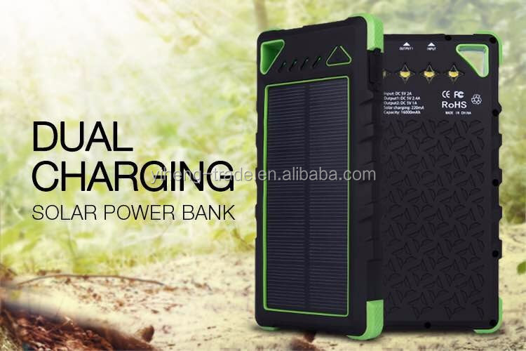 2017 wholesale rohs external usb power bank 16000mah,power bank 16000 with led indication