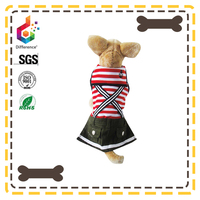 size customized spring and summer girl dog coat