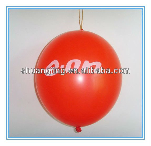 Hot selling puch balloon Christmas promotion