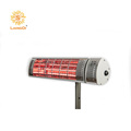 Remote control infrared patio electric heaters