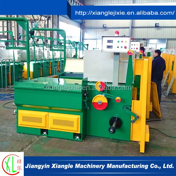 China Manufacturer Stainless Steel Steel Wire Coil Rod Drawing Machine