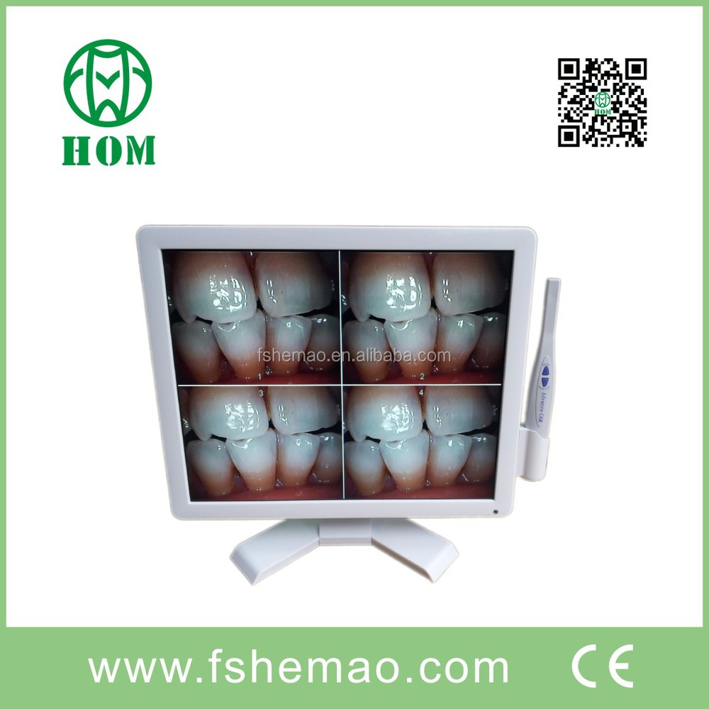 2016 New Camera With Monitor Combine Unit /dental Intraoral Intra Oral Camera Usb Dynamic 6 Mega Pixels Led + Software