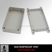 High quality IP66 plastic battery enclosure/Optional size ABS waterproof plastic enclosure HPE058