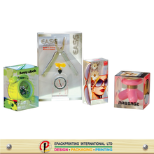 Clear plastic packaging boxes for sunglasses