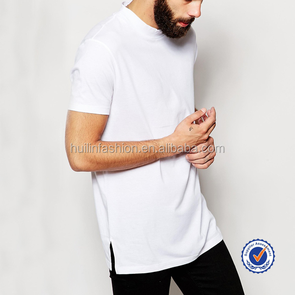 Wholesale high quality bulk blank t shirts mens white t Bulk quality t shirts
