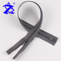 ZHENBO Brand Umber 3# Nylon Close End Teeth Plastic Zipper Supplies For Garments