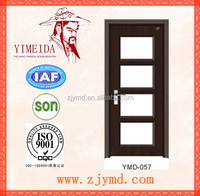 Glass interior PVC door (Top quality,quickly lead time.Reasonable price)