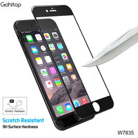 Full Curved 3D Tempered Glass for iPhone 7, Factory Price Clear Screen Protector for iPhone 7