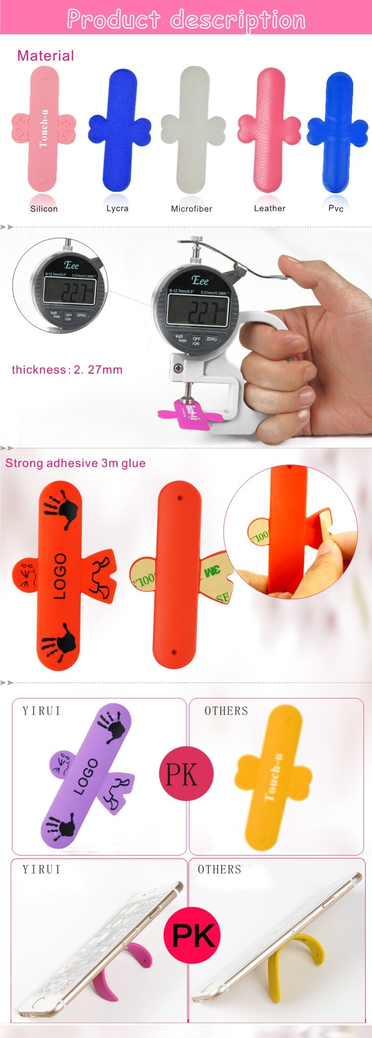 The new design good quality wholesale silicone octopus stander holder
