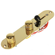 guitar pickup parts of gold plated brass guitar bridge and guitar knob from china supplier