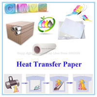 Hot sale best quality heat clear transfer paper for pigment ink
