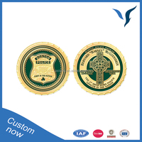 High quality custom enamel challenge coins for souvenir gift