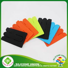 Good design smart Silicone cell phone credit card holder with strap