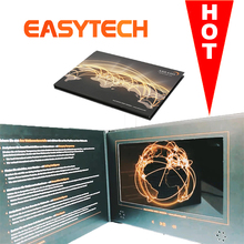 "Et-digital 2.4""/2.8""/4.3""/5""/7""/10"" inch LCD screen Media Player video wedding card audio video business cards"