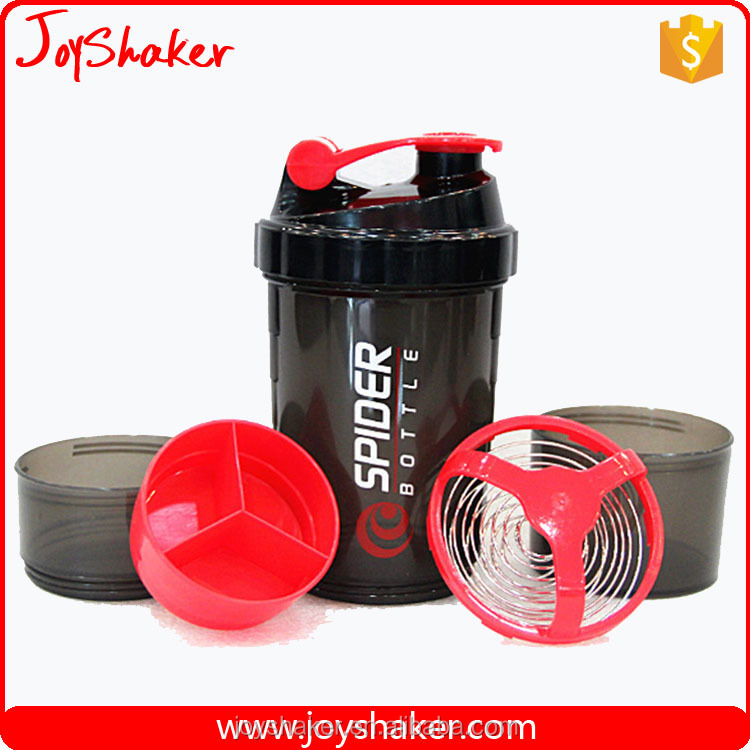 Wholesale Super Shaker JoyShaker Bottles Container , Wire Wisk Cap Protein Shaker Cups Sport