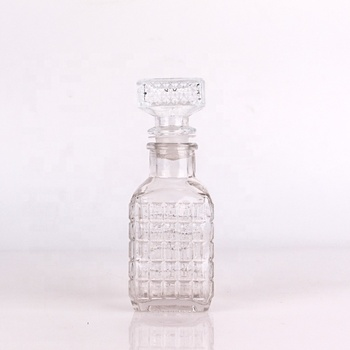120ml glass bottle with glass cork for wine beer