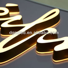 outdoor advertised company logo acrylic led Shop letter signs