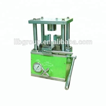 lihtium battery lab research machine 18650 crimping machine