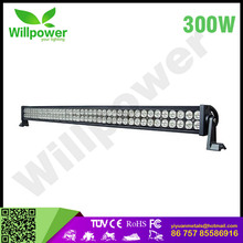 2017 NEW led light bar car 52 inch led driving 12v 300w CE ROHS led wide working light SUPER toyota prado daytime running light